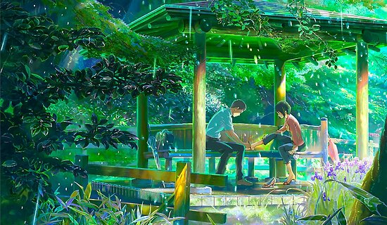 The Garden Of Words By NEODESIGN
