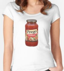 Prego Women's Fitted Scoop T-Shirt