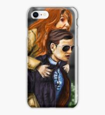 Karen Gillan and Matt Smith iPhone Case/Skin