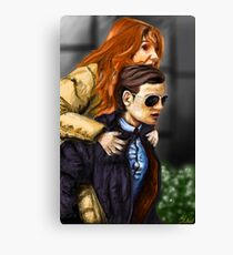 Karen Gillan and Matt Smith Canvas Print