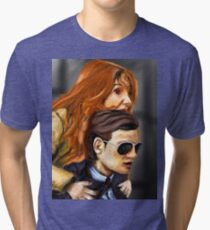 Karen Gillan and Matt Smith Tri-blend T-Shirt