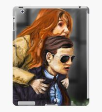 Karen Gillan and Matt Smith iPad Case/Skin