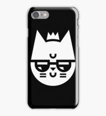 Cynical Cat iPhone Case/Skin