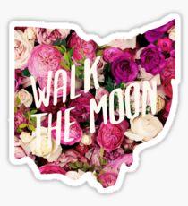 Walk the Moon Roses Sticker