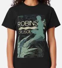 Books Collection: Robinson Crusoe Classic T-Shirt