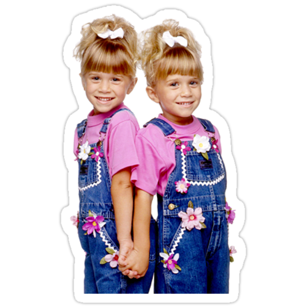 Mary Kate And Ashley Olsen Young Full House