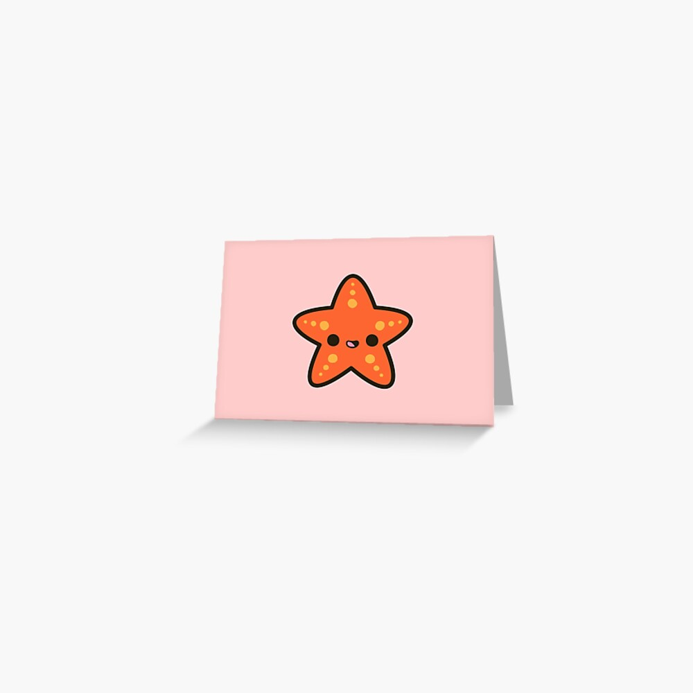 Cute starfish Greeting Card