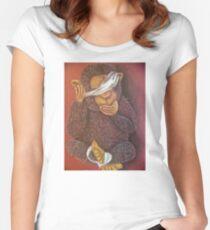 See no evil, Hear no evil, Speak no evil Women's Fitted Scoop T-Shirt