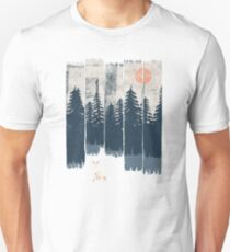 Ein Fuchs in der Wildnis ... Slim Fit T-Shirt