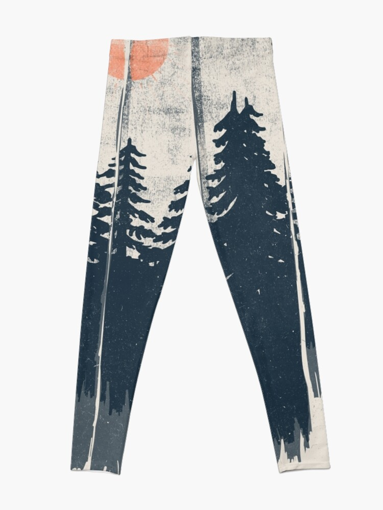 Alternate view of A Fox in the Wild... Leggings