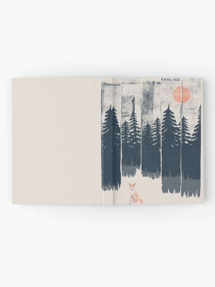 Alternate view of A Fox in the Wild... Hardcover Journal