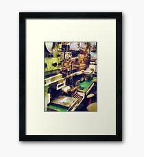Radio Room Framed Print
