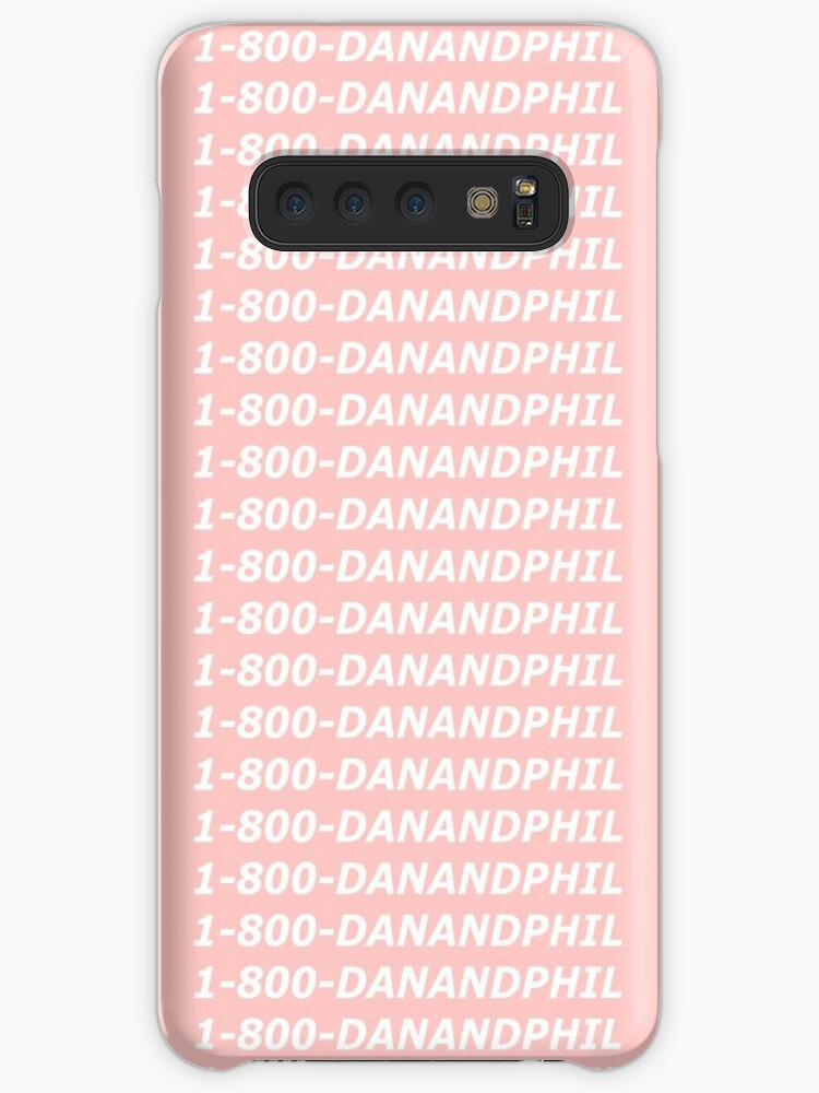 on sale c546b 01c3b 'Dan and Phil Hotline Bling phone case' Case/Skin for Samsung Galaxy by  Grace Mitchell