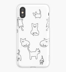 Meow! Kitties! iPhone Case