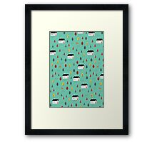 Countryside Pattern Framed Print