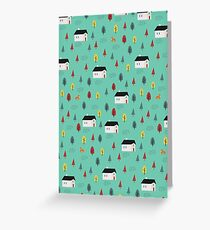 Countryside Pattern Greeting Card