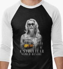Gillian Anderson - A Streetcar Named Desire Men's Baseball ¾ T-Shirt
