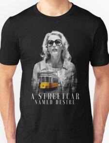 Gillian Anderson - A Streetcar Named Desire Unisex T-Shirt