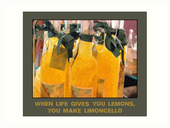 Limoncello (when life gives you lemons) by aapshop