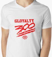 Chief Keef / GLOGANG/ 300 / 3HUNNA Men's V-Neck T-Shirt