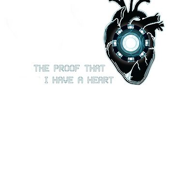 The Proof That I Have a Heart by sarjssa