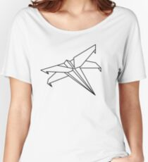 Star Wars - Paper X-Wing  Women's Relaxed Fit T-Shirt