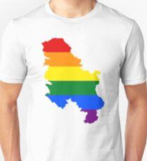 Rainbow Serbia T-Shirt