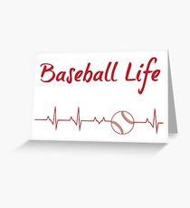 Baseball Life Greeting Card