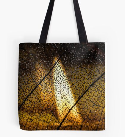 Flame's Reflection Tote Bag