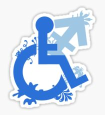 Disabled and Non-Binary Sticker