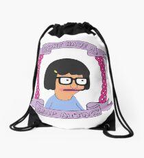 Crap Attack // Tina Belcher Drawstring Bag