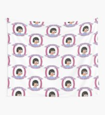 Crap Attack // Tina Belcher Wall Tapestry