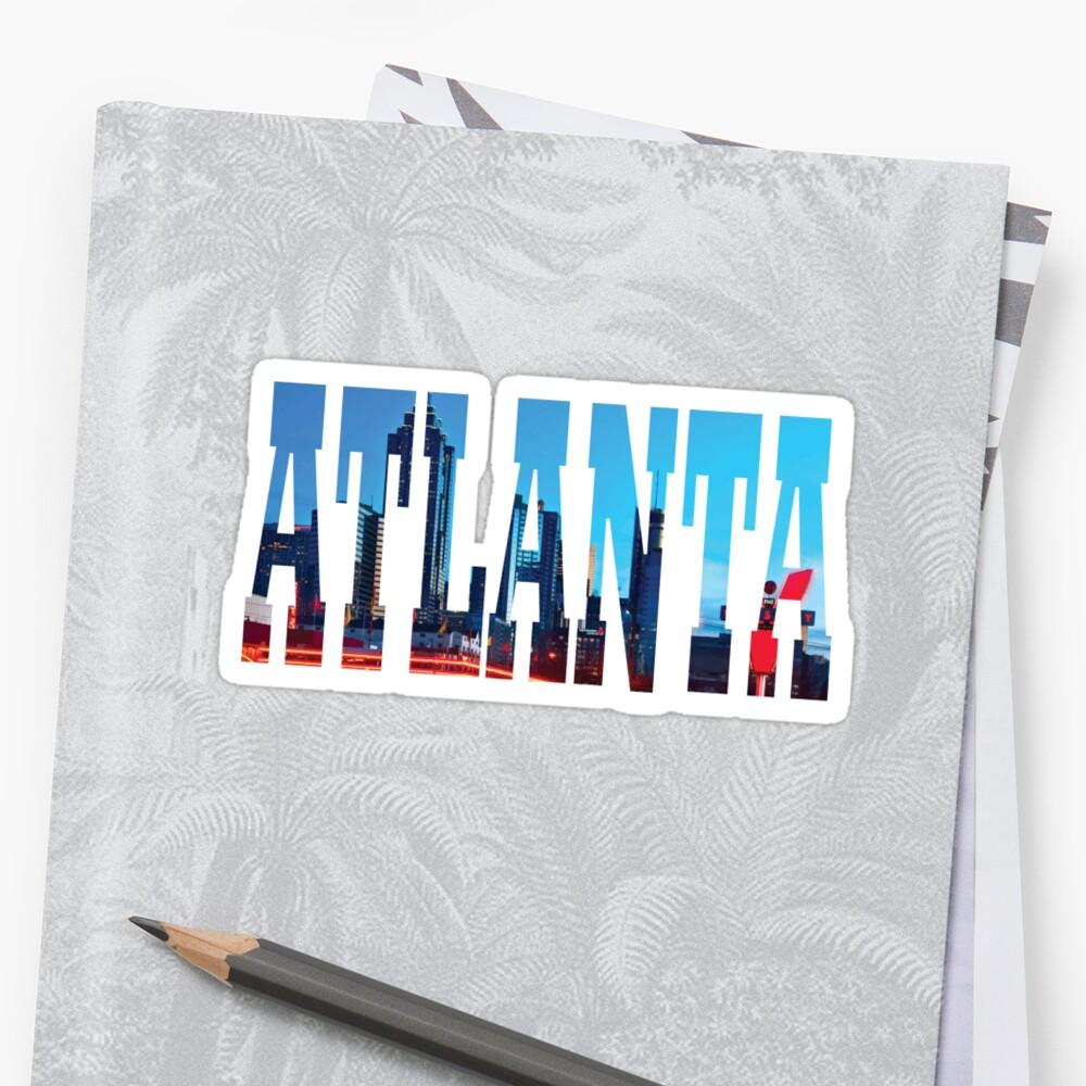 Atlanta Pegatina
