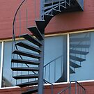 Spiral Staircase by Colleen Drew