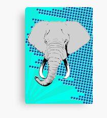 POP Elephant Canvas Print