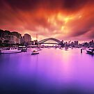 Lavender Bay Colours  by Arfan Habib