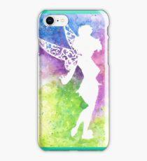 tink multi coloured silhouette  iPhone Case/Skin
