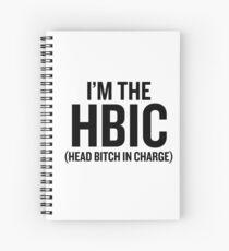 Cuaderno de espiral Soy el HBIC