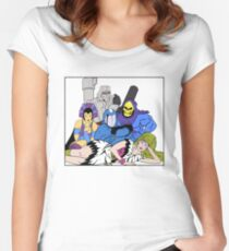 The Villains Club Women's Fitted Scoop T-Shirt