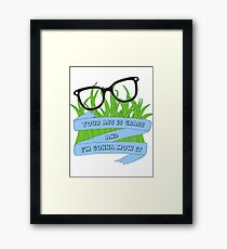 Tina Quotes Framed Print