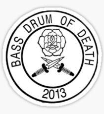 Bass Drum of Death Sticker