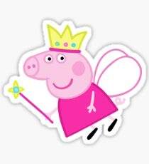 Peppa pig fairy Sticker