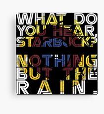 Nothing but the rain [mandala] Canvas Print