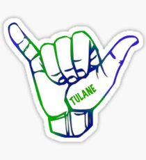 TULANE HAND Sticker
