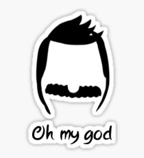 oh my god // Bob  Sticker