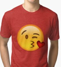 Kuss Emoji Vintage T-Shirt