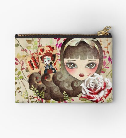 Hidden Garden Zipper Pouch