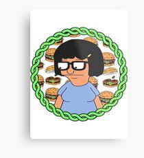 Tina ft Burgers Metal Print