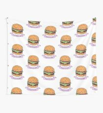 you're so cute // burger Wall Tapestry