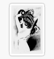 Lady Pieuvre Sticker